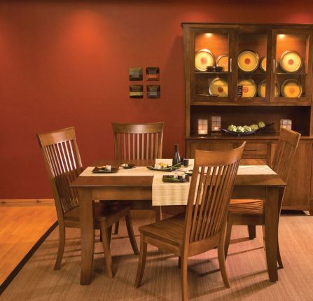 Hoot Judkins Furniture  Simply Amish  Amish Crafted Amish Crafted Loft Dining Collection