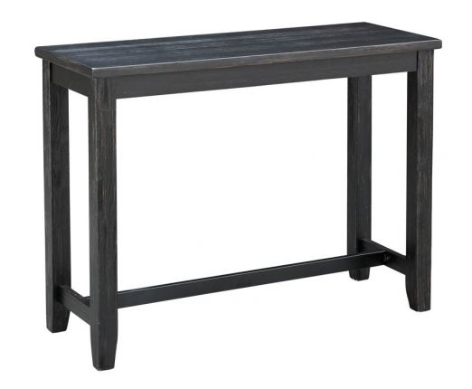Solid Wood Counter Height Console Table
