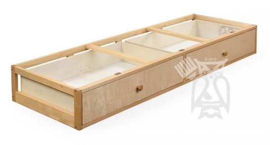 Solid Wood Framed Under Bed